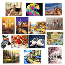 Frameless Oil Painting Paint By Numbers Canvas Print Handicrafts Artwork