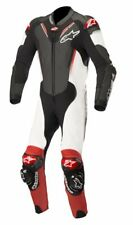 Alpinestars Atem V3 Suit-Black/Wht/Red(123)One Piece Leather Motorcycle Suit
