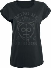 Bring Me The Horizon Hand Drawn Shield Maglia donna nero