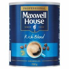 Maxwell House 750g Tin, Instant Coffee, Rich or Mild