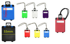 Luggage Tags Suitcase Bag Name Address Label Id Travel Holiday Tag Hand Bag Card