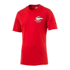 Puma Fc Arsenal Graphic Tee T-Shirt Rossa F01