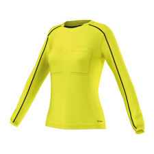 Adidas Referee 16 de manga larga camiseta mujer amarillo