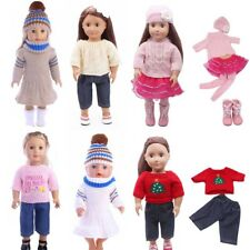 New Sweater Skirt Hat Fit 18 Inch American Girl Doll or 43 Cm Zapf Baby Doll