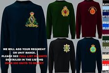 UNITS N TO Z EMBROIDERED ROYAL CANADIAN ARMY NAVY AIR FORCE SWEATSHIRT