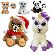 Feisty Plüsch Tiere Pets Expression Stuffed Scary Face Toy Animal Weinachten DE