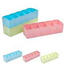 Storage Box Tie Bra Chaussettes Drawer Cosmetic Divider Tidy Organizer Eager EH