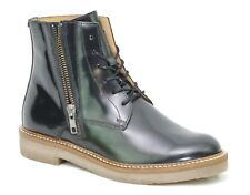 KICKERS OXFOTO Bottines Boots Noir Brillant cuir femme 577250 - 50 8