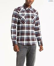 Levi's Men's Barstow Western Shirt - Wintercress Puce