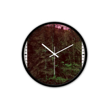 Non-Ticking Silent Wall Clock with Modern and Nice Design for Wall Decoration (B