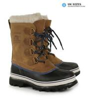 Sorel Women's Caribou WL Snow Boots - Elk/Dark Mountain