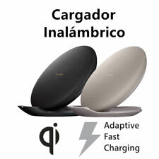 Qi estación carga estación inalámbrico Wireless Charger Para Samsung Note8 S9 S8