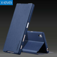 Custodia Tipo Libro Book X-Level Flip Cover Stand Cellulare Per Sony Xperia X Z1