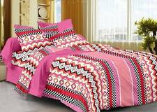 Story@Home Cotton Abstract Double Bedsheet(1Double Bedsheet,2 Pillow Covers)-ITM