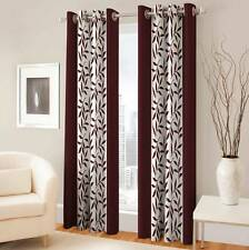 Optimistic Home Furnishing Polyester Floral Eyelet Door Curtain(Pack of 2) - IGS