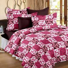 Story@Home Cotton Abstract Double Bedsheet(1Double Bedsheet,2Pillow Covers)- IBR