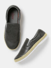 Roadster Men Grey Slip-Ons Shoes-169-H7A