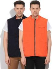 Arrow Sleeveless Solid Mens Quilted Jacket-4351-KCD