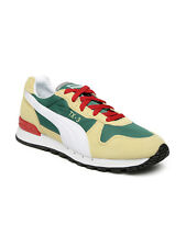 Puma Unisex Colourblocked Suede Leather TX-3 IDP Sneakers-7866-L2Z