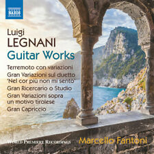 Guitar Works - Legnani / Fantoni (2018, CD NEUF)
