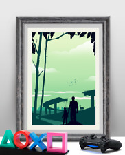 The Last of Us Game Art Poster Print - Travel Poster