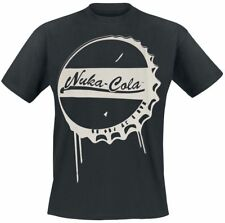 Fallout 4 - Nuka-Cola Bottle Cap T-Shirt nero
