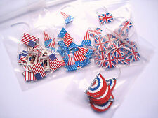 1/12th Dolls House Miniature Patriotic Red White and Blue Bunting