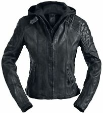 Gipsy Chasey Giacca pelle donna nero