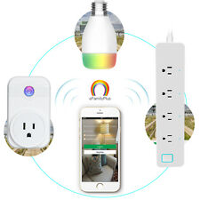 UK Wifi Phone APP Remote Control Timer Switch Smart Socket Amazon Alexa Hot OR8