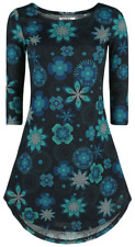 Innocent Flower Rounds Winter Dress Abito nero