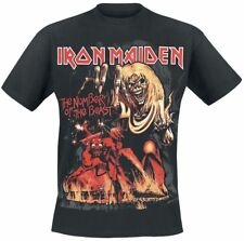 Iron Maiden Number Of The Beast Graphic T-Shirt nero