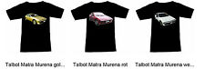 Camiseta con TALBOT AUTOMÓVIL - Fruit of the Loom S M L XL 2xl 3xl