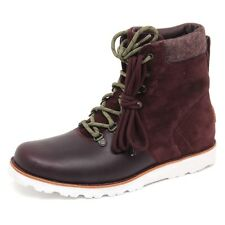 D7704 (SAMPLE NOT FOR RESALE WITHOUT BOX) scarponcino uomo bordeaux UGG boot man
