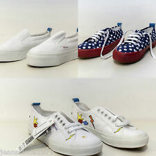 SUPERGA PARA MANCHA J LIMITED EDITION MUJER LUNARES AZUL - BLANCO - MULTICOLOR