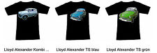 Camiseta con Lloyd AUTOMÓVIL - Fruit of the Loom S M L XL 2xl 3xl
