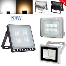 20W LED Floodlight Cool/Warm white 12V Outdoor Garden Security Wall Lights IP65