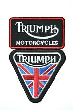 Triumph Collection Patch Motorcycle Iron On Sew on Embroidered Badge patch