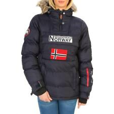 Geographical Norway Abbigliamento Donna Giacca Blu 87348 BDT