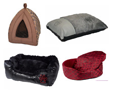 Luxury Soft Dog Cat Puppy Pet Bed Mattress Pillow Cushion Igloo Cave House Tent