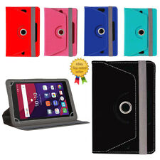 360° Rotating Leather Tablet Book Flip Flap Cover For Alcatel One Touch Pop 7S