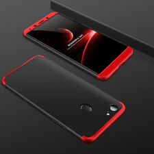 3 in 1 Luxury Rubbished Matte Finish Hybrid Front & Back Case Cover For OPPO F5