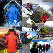 Mens Jackets Quick Dry Waterproof Windproof Coats Outwear Tops Outdoor Hiking