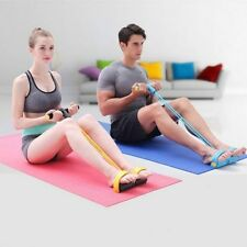 Gym Accessories Elastic Pedal Exerciser Crossfit Body Building Fitness Band Rope