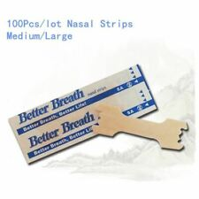 100Pcs Nasal Strips Anti Snoring Patches Sleep Better Aid Stop Snore Breathe Imp