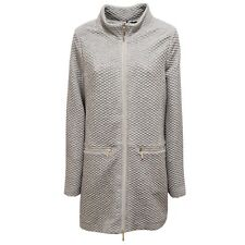 9430U giacca donna UP TO BE LIDIA full zip grigio jacket woman