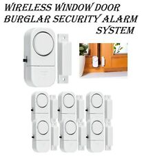 Wireless Entry Alarm Home Security Door Window Magnetic Sensor Auto Dial Burglar