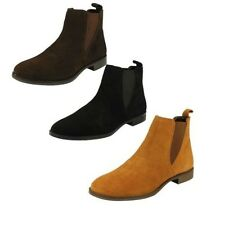 Mujer Leather Collection Botines Estilo - f50666 ~ K