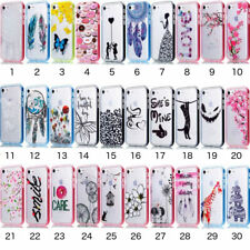Hybrid Soft Clear Back Hard Sides Case Cover For Samsung Galaxy S6 S7 Edge