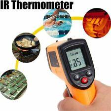 Digital Gun Infrared Non-contact Temperature IR LCD Thermometer GM320 Laser fn