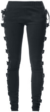 Gothicana by EMP Built For Comfort Leggings nero